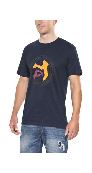 ÖTILLÖ Peach t-shirt Heren blauw